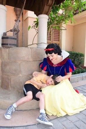 Berger conta que enviou uma carta à Disney para expressar seu agradecimento por terem tratado seu filho tão bem