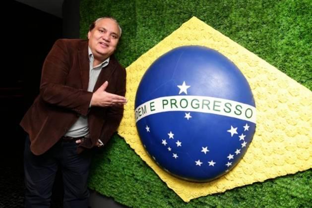 Branco - Após exercer a função entre 2003 e 2007, o ex-lateral foi anunciado pela CBF neste mês de outubro de 2018 como novo coordenador de base da Seleção Brasileira(Foto: Lucas Figueiredo/CBF)