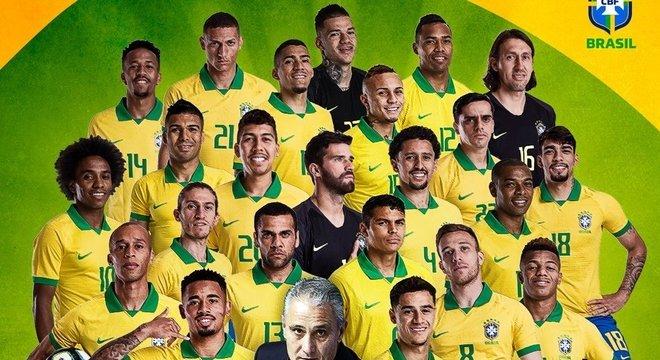 Brasil campeão da Copa América, a homenagem do Twitter da CBF
