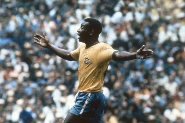 Brasil 1 x 0 Paraguai, em 31 de agosto de 1969, pelas Eliminatórias para a Copa do Mundo de 1970 - público de 183.341