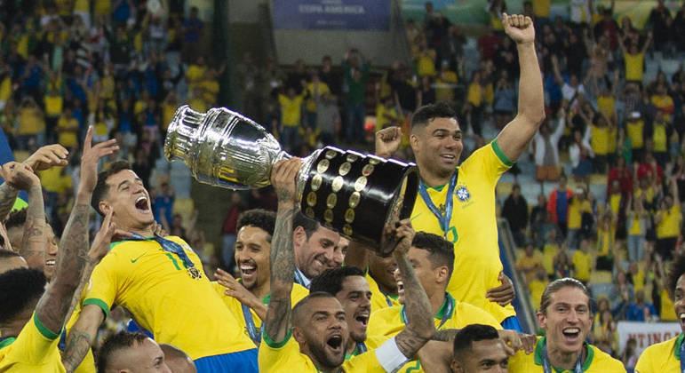 Brasil campeão da Copa América de 2019. Brasileiro parado. Transmissão? TV Globo