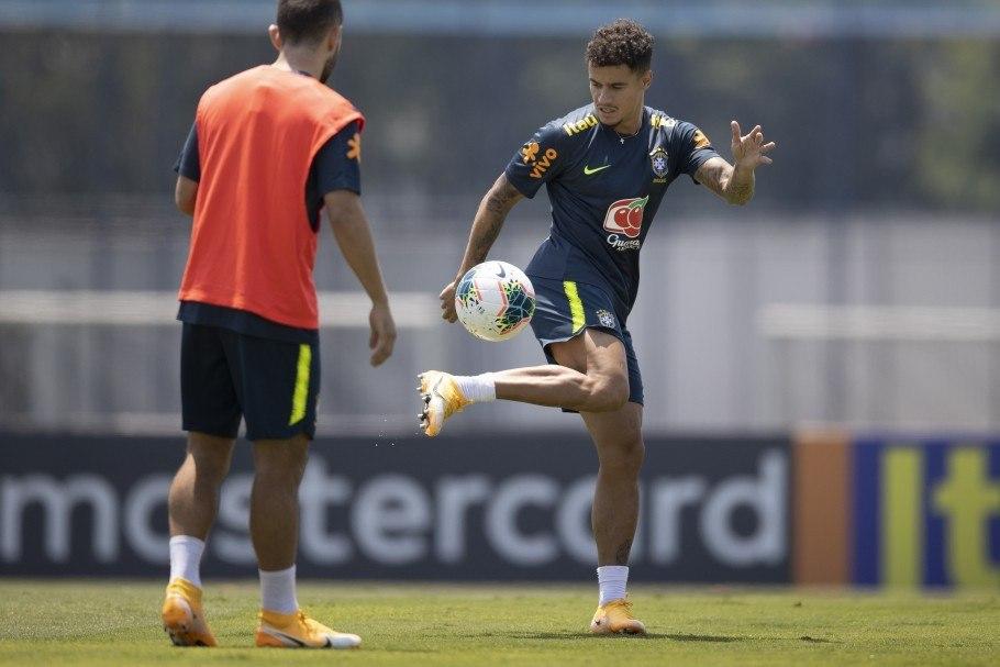 Brasil faz o último treino antes do jogo de hoje. Globo não enviou ninguém para Lima