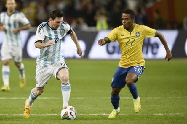 Brasil 2 x 0 Argentina - 11/10/2014 – Amistoso (Super Clássico das Américas)
