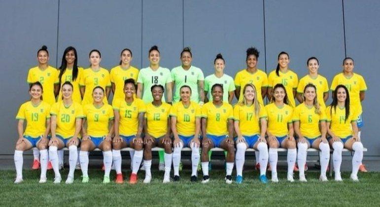 Foto oficial das 22 do Brasil