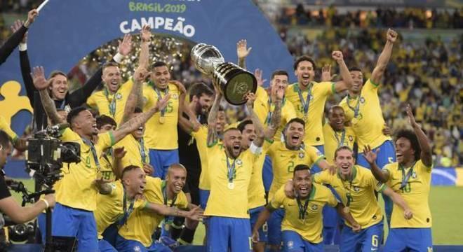 Brasil ganhou a Copa América de 2019 sem Neymar. Torneio sem relevância mundial