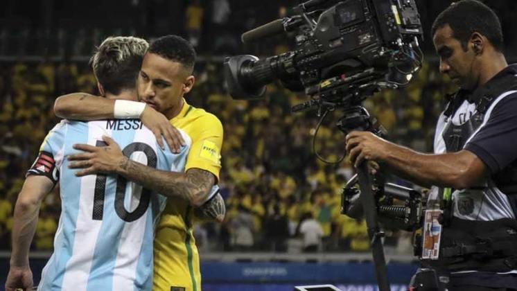 Brasil 3 x 0 Argentina - 10/11/2016 – Eliminatórias para a Copa do Mundo de 2018
