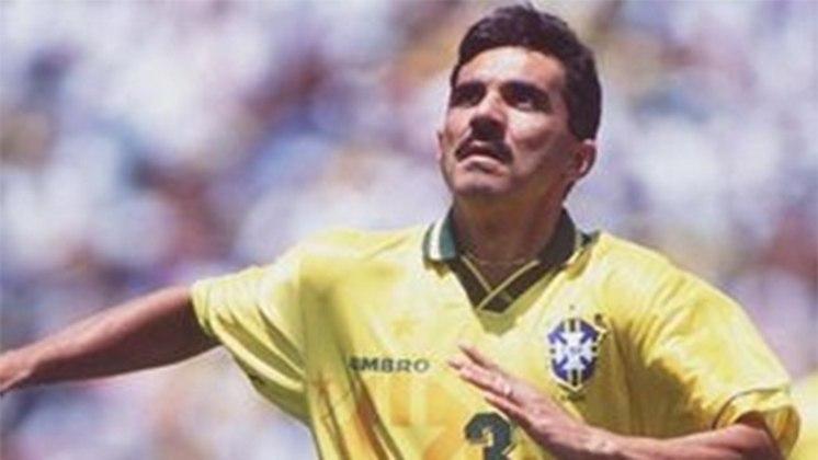 Brasil 4 x 0 Venezuela - Eliminatórias da Copa do Mundo de 1994 - No Mineirão, o Brasil deu mais um show e venceu com dois gols de Ricardo Gomes (foto), um de Palhinha e outro de Evair.