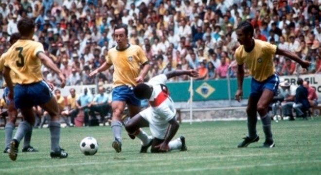 Brasil 4 x 2 Peru - Copa de 1970