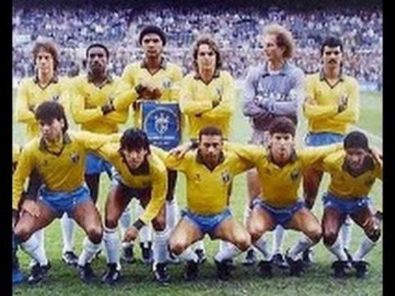 Brasil 5 x 0 Venezuela - Copa América de 1987 - Em jogo disputado na Argentina, a equipe brasileira marcou mais uma goleada. Edu Marangon, Careca, Nelsinho, Romário e Morovic (contra), construíram a goleada.