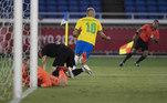 A seleção masculina de futebol entra em campo em busca de uma vaga na semifinal. A disputa entre Brasil e Egito será às 07h.O Brasil compete ainda em outras modalidades entre sexta-feira (30) e sábado (1º), veja a seguir