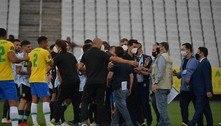 PF notifica jogadores da Argentina; caso é discutido por ministérios