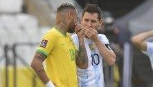 Por dinheiro, Globo, patrocinadores, a CBF quer novo Brasil e Argentina