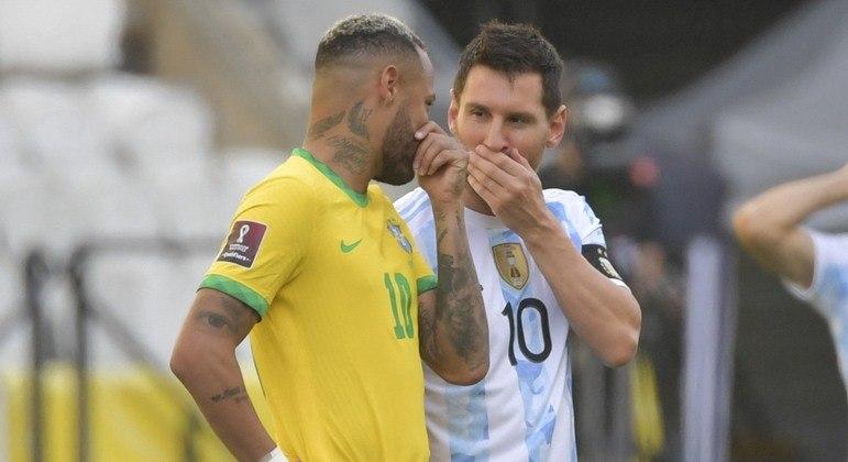 CBF quer que Brasil e Argentina se enfrentem. Que a Fifa confirme nova partida