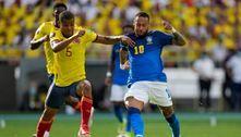 Seleção brasileira fica no empate com a Colômbia em Barranquilla