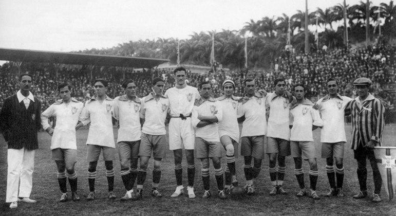 Brasil campeão sul-americano em 1919