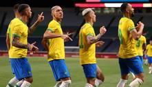 Brasil vence Egito e se garante nas semis do futebol masculino