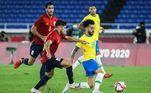 Brasil e Espanha disputam final do torneio de futebol masculino nos Jogos de Tóquio