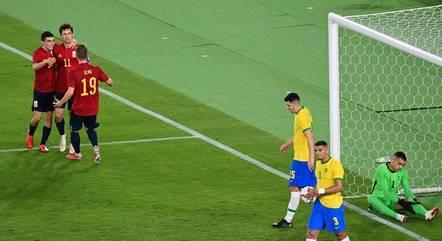 Seleção espanhola empatou na 2ª etapa
