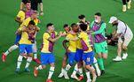 Seleção masculina de futebol venceu Espanha e ganhou medalha de ouro nos Jogos de Tóquio
