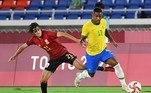 Malcom entrou na prorrogação e deu velocidade ao ataque do Brasil