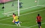 Malcom marca o segundo gol do Brasil