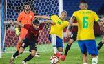 Brasil e Espanha disputaram a final do torneio masculino de futebol pelos Jogos de Tóquio 2020