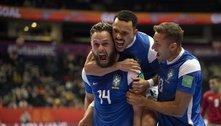 Brasil vence Marrocos e avança à semifinal do Mundial de Futsal