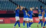 A disputa feminina nofutebol começa às 05h. Seleção do Brasil joga contra a Zâmbia às 08h30