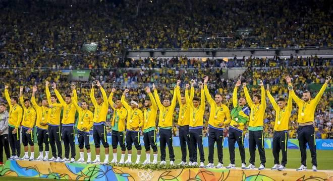 A seleção do ouro nos Jogos do Rio em 2016