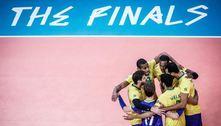 Brasil atropela a França e avança à final da Liga das Nações de vôlei