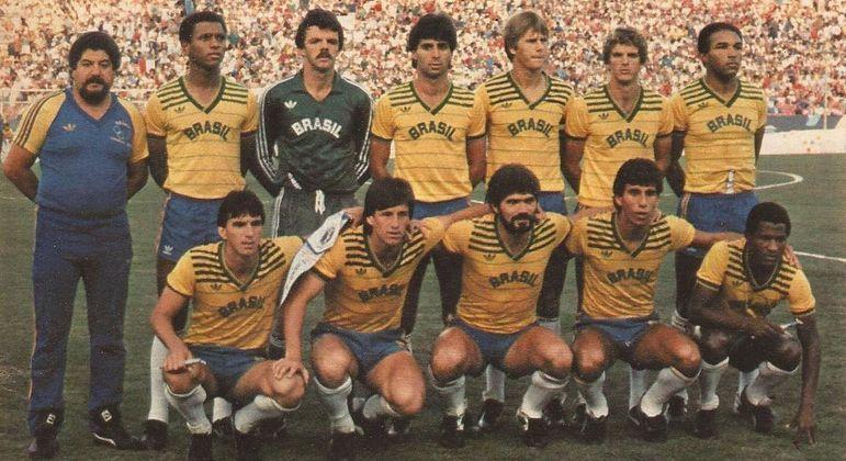 A seleção da prata de Los Angeles/1984