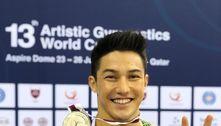 Brasil leva uma prata e três bronzes na Copa do Mundo de Ginástica
