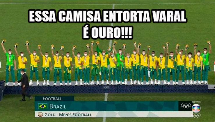 Brasil sagrou-se bicampeão olímpico após vencer a final contra a Espanha no futebol masculino.