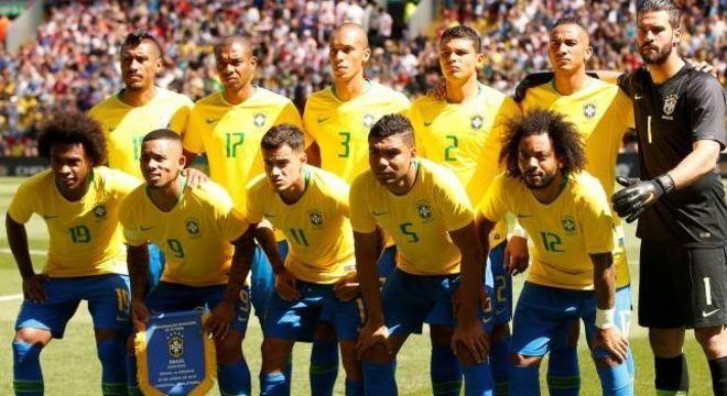 Brasil chega à Rússia em busca do hexacampeonato mundial d2a1cf3548dde