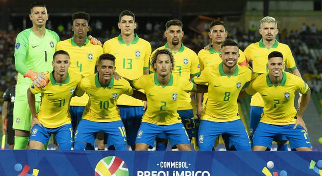 O time do Brasil no certame da Colômbia