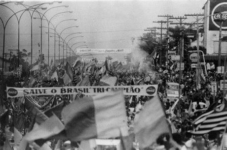 Alegria tomou conta das ruas no Brasil