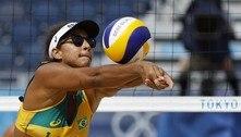 Vôlei de praia: Dupla brasileira perde, mas avança às oitavas