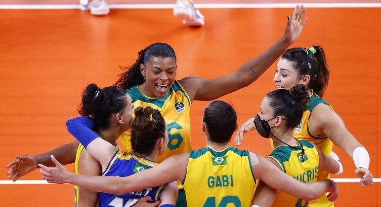 Seleção feminina de vôlei do Brasil está na final dos Jogos de Tóquio