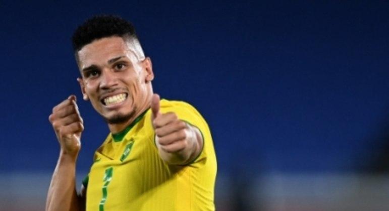 Brasil x Alemanha - Jogos Olímpicos - Paulinho