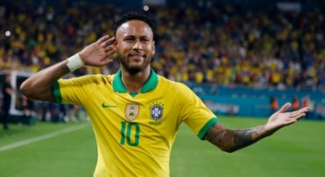 Brasil x Colômbia - Neymar