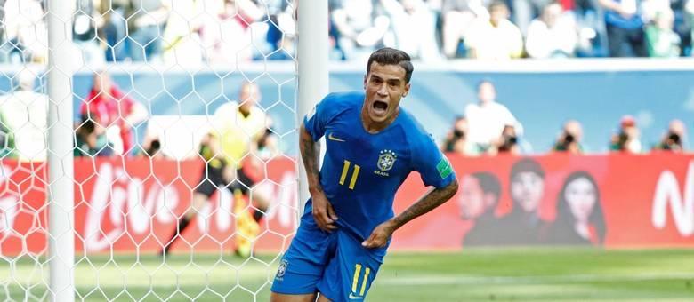 Brasil x Costa Rica, Coutinho