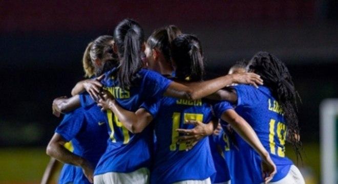 Brasil x Equador - Seleção Brasileira feminina