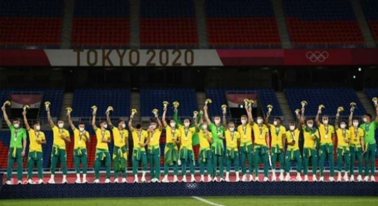 Brasil x Espanha (podio)