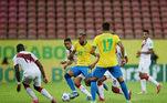 Brasil x Peru, Eliminatórias 2022,