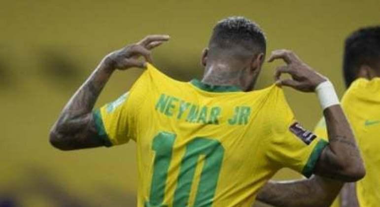 Brasil x Peru - Neymar