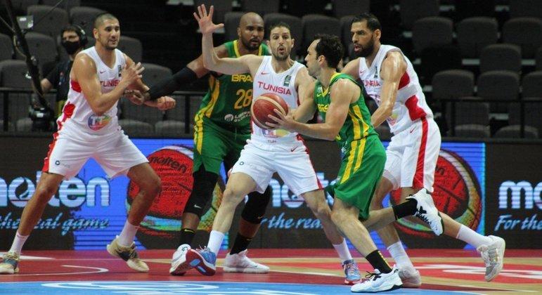 Vítor Benite foi um dos destaques da vitória da seleção brasileira na estreia no pré-Olímpico