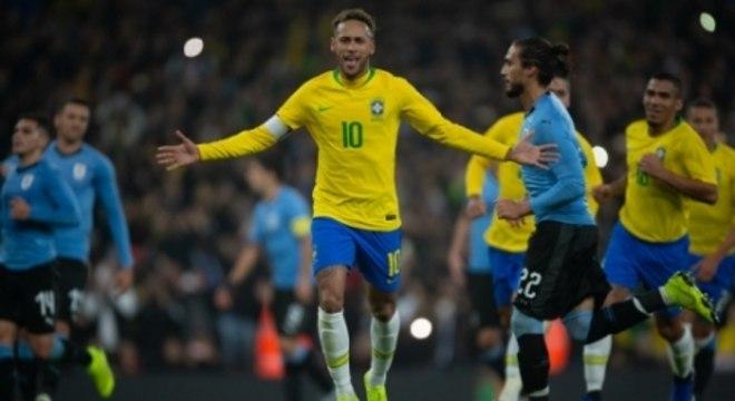 Brasil x Uruguai - Neymar