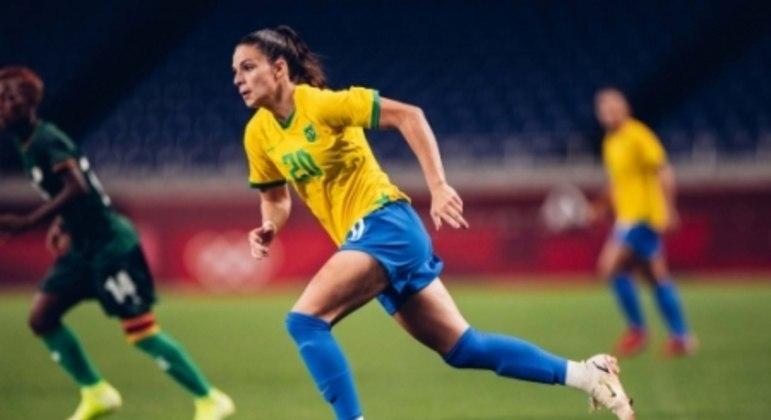 Brasil x Zâmbia - Jogos Olímpicos - Giovana Queiroz