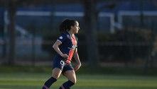 Brasileira faz gol à la Neymar em jogo da Champions Feminina