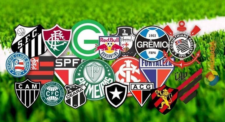 Clubes do BRasileirão, de marcas em destaque no Exterior
